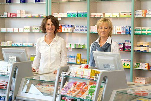 Sittardsberger Apotheke Duisburg - Über uns - Frau Papenfuss und Frau Groth
