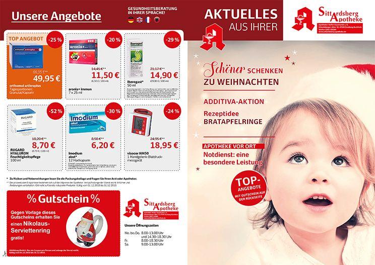 Sittardsberger Apotheke Duisburg - Angebote von Dezember - Angebote